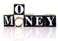 znalezienie pieniądze zdjęcia stock