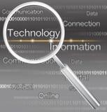 Znalezienie technologia Fotografia Stock
