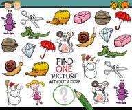 Znalezisko obrazka gry pojedyncza kreskówka Fotografia Stock