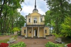Znamenskaya Church, Tsarskoye Selo (Pushkin), Saint-Petersburg, Russia Stock Photography