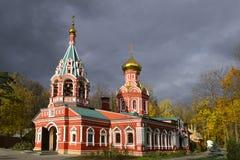 Znamenskaya church (was built in 1683) Royalty Free Stock Image