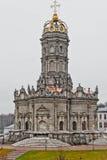 Znamenskaya kościół w Podolsk zdjęcie royalty free