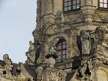 Znamenskaya kyrka i Dubrovitsy royaltyfria foton