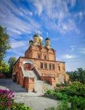 Znamenski-Kloster, Moskau, Russland stockfotos