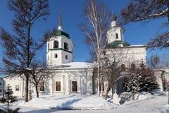 Znamensky修道院 免版税库存照片