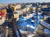 Znamensky大教堂 图库摄影