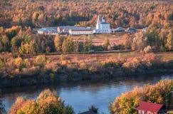 Znamensky en kvinnlig kloster Gorokhovets Den Vladimir regionen Slutet av September 2015 Arkivbilder