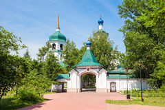 Znamensky Monastery in Irkutsk Royalty Free Stock Photography