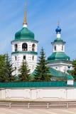 Znamensky Monastery in Irkutsk Royalty Free Stock Images