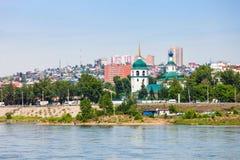 Znamensky Monastery in Irkutsk Stock Photo
