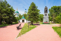 Znamensky Monastery in Irkutsk Royalty Free Stock Photos