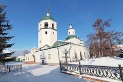 Znamensky monastery Stock Image