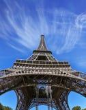 Znany w świacie - wieża eifla Fotografia Royalty Free