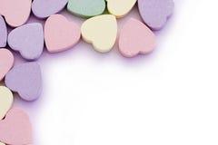 zniżkę obdziergań słodkich serca obrazy stock