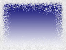 zniżkę płatki śniegu ilustracja wektor