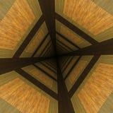 Zniekształcający drewniany tło Zdjęcie Stock
