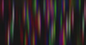 Zniekształcający i zamazujący ruch stubarwni jaskrawi światła zdjęcie wideo
