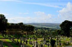 Zniewalający krajobraz wieś w Scotland Obrazy Stock
