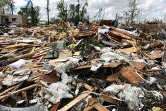 zniszczenia szlagierowi ludwika świętego tornada Fotografia Royalty Free