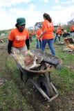 zniszczenia szlagierowi ludwika świętego tornada zdjęcie stock