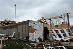 zniszczenia tornado Obraz Royalty Free