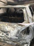 Zniszczenie ogień Zdjęcie Royalty Free