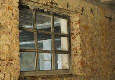 Zniszczone i zaniechane fabryki communistic era obrazy royalty free