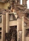 Zniszczony budynek zdjęcie royalty free