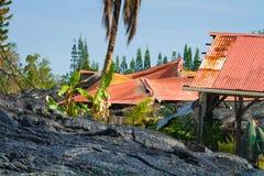 Zniszczony dom Obrazy Royalty Free