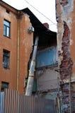 zniszczony dom zdjęcia royalty free