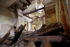 zniszczony dom Obrazy Stock