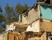 zniszczony domowy stary Fotografia Royalty Free