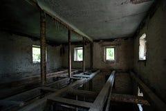 zniszczony domowy stary zdjęcia stock