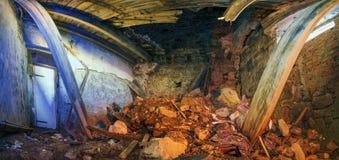 Zniszczony pokój Obraz Stock