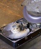 zniszczony prowadnikowy hard zdjęcie stock