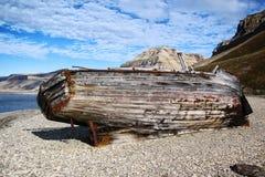 zniszczyłeś łódź Zdjęcie Royalty Free