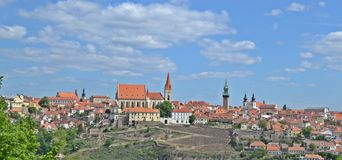 Znojmo Czech Republic. Cityscape of Znojmo in Czech Republic Stock Photography
