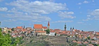 Znojmo Tjeckien arkivbild