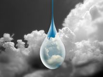 znowu deszcz Fotografia Stock
