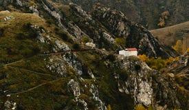 Znużony Ortodoksalny Chrześcijański monaster zdjęcia royalty free