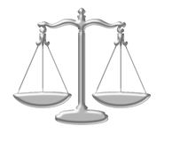 Zoalogical sign of balance. Also of legal authority Stock Photography