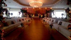 Zobowiązania i przyjęcie weselne sala dekoraci obrazek dla każdy wyobrażalnego miejsca wydarzenia zdjęcie stock