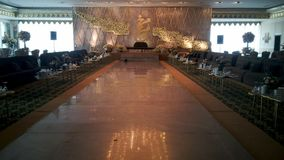 Zobowiązania i przyjęcie weselne sala dekoraci obrazek dla każdy wyobrażalnego miejsca wydarzenia fotografia royalty free