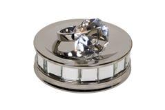 zobowiązania lustra talerza pierścionek zdjęcie royalty free