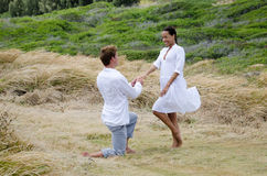 zobowiązanie poślubia ja Obraz Royalty Free