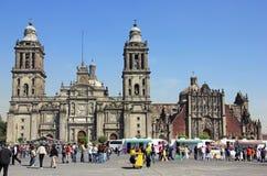 Zocalo, Πόλη του Μεξικού Στοκ Εικόνες
