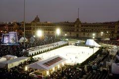 Zocalo de Ciudad de México imagen de archivo libre de regalías