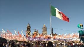 Zocalo de Mexico Photographie stock libre de droits