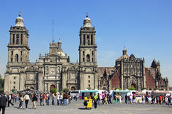 Zocalo, Mexico City Stock Images
