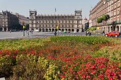 zocalo palacio του Μεξικού hierro de EL Στοκ φωτογραφία με δικαίωμα ελεύθερης χρήσης